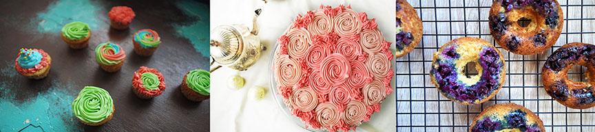 Versatile vanilla cake three ways
