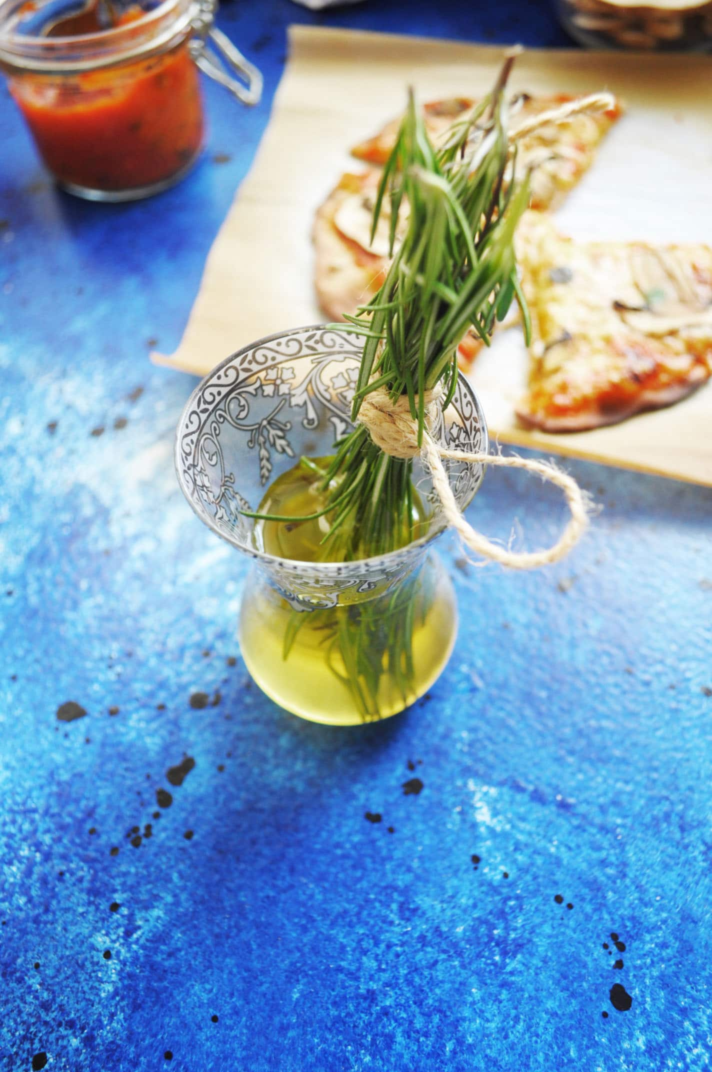 Herb Infused Dipping Oil