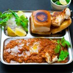 Instant Pot Pav Bhaji Recipe- Quick and Easy pressure cooked version of Mumabi Pao Bhaji -A Spicy Indian vegetable mash usually served with bread rolls. #instantpot #instantpotpavbhaji #indianinstantpotrecipe #recipe #pressurecooked #instantpotindian #indianrecipe