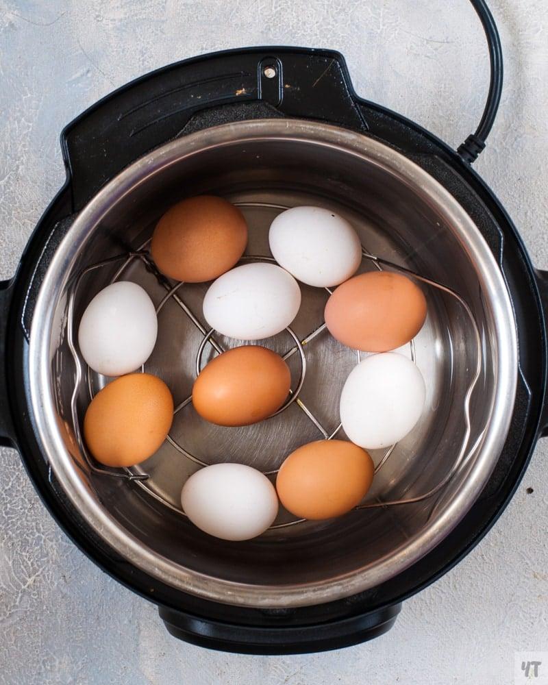 Instant Pot Hard Boiled Eggs 5 5 5 Method - Super Easy